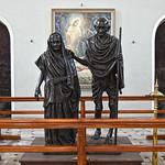Mahatma Gandhi and his Wife Kasturba